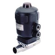 Тип 2031 - Ходовой пневмоуправляемый мембранный клапан