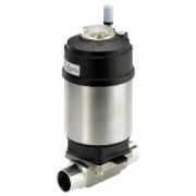 Пневмоуправляемый регулирующий/отсечной мембранный клапан - тип 2103