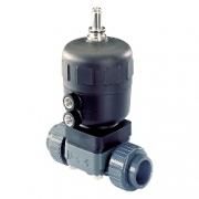 Пневмоуправляемый регулирующий мембранный клапан - тип 2730