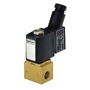 Электромагнитный клапан для нейтральных и газовых сред прямого действия - тип 6011