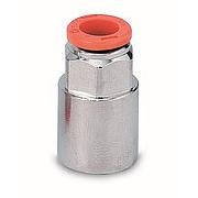 Фитинг прямой, цанга, внутренняя цилиндрическая резьба (R2) Metal Work (Метал Уорк)