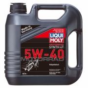 Cинтетическое моторное масло для 4-тактных мотоциклов Motorrad Synth 4T 5W-40