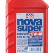 Минеральное моторное масло Nova Super 15W-40