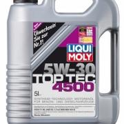 НС-синтетическое моторное масло Top Tec 4500 5W-30