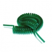 Пневмотрубка спиральная Nylon P10 и PU