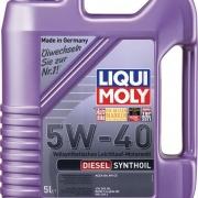 Синтетическое моторное масло Diesel Synthoil 5W-40