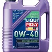 Синтетическое моторное масло Synthoil Energy 0W-40