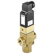 Тип 0344 - Электромагнитный клапан для низкого давления и вакуума
