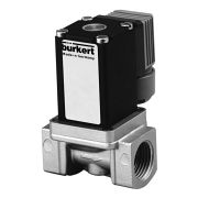 Тип 0288 - Электромагнитный клапан для газообразных сред с сервоуправлением