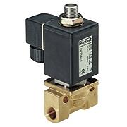 Тип 0355 - Электромагнитный клапан для нейтральных жидкостей и газов, пара до 180 град.
