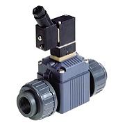 Тип 6642 - Электромагнитный клапан для агрессивных сред сервоуправляемый